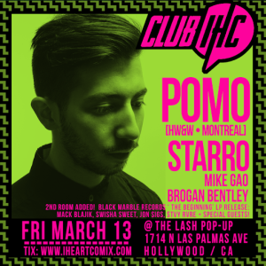 March 13th Black Marble Collective w:Pomo